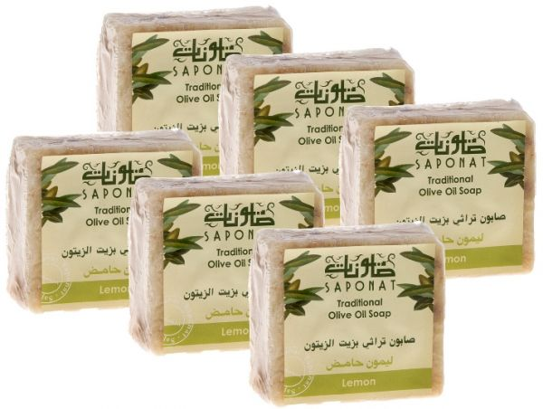 saponat traditional olive oil soap lemon 6 pcs review and buy in riyadh jeddah khobar and. Black Bedroom Furniture Sets. Home Design Ideas