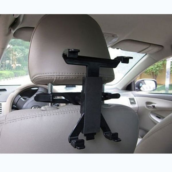 Multi-Direction Car Mount Headrest Holder Bracket Clip For iPad / Tablet PC / GPS