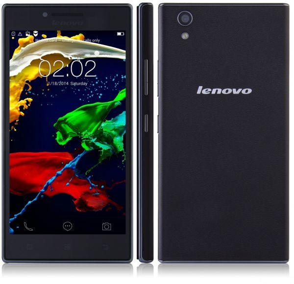 Lenovo P70 Dual Sim - 16GB, 4G LTE, Midnight blue