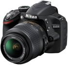 Nikon D3200 (24.2 Megapixel, SLR Camera, Black) With Case, 8GB Memory Card, Lens 18-55 VR (Digital Camera)