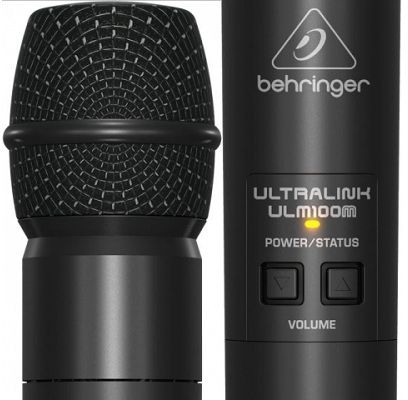 Behringer ULM100USB High Performance 2.4 Ghz Digital Wireless Microphone with USB Receiver