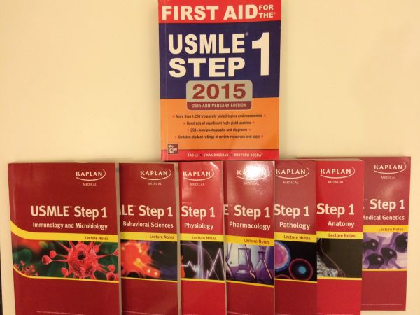 USMLE STEP 1 CK with First Aid (Set of 8 books)