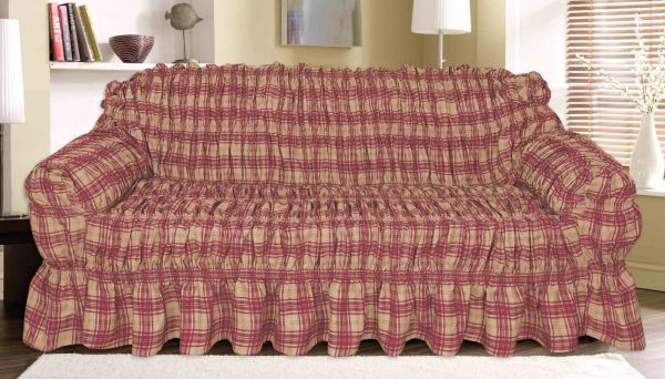 Knightsbridge Fantasy Canvas Printed Sofa Cover 1 Seater
