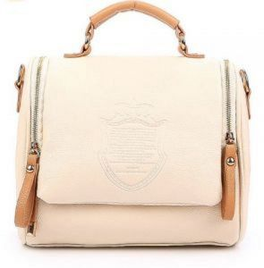 3c5a302a687a white Women s Vintage Leather Cross body Shoulder Bag Casual Clutch Totes  Messenger Evening Bag
