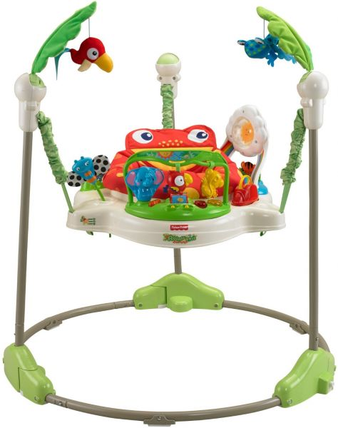 a20447841 Fisher Price K7198 Rainforest Jumperoo - Green