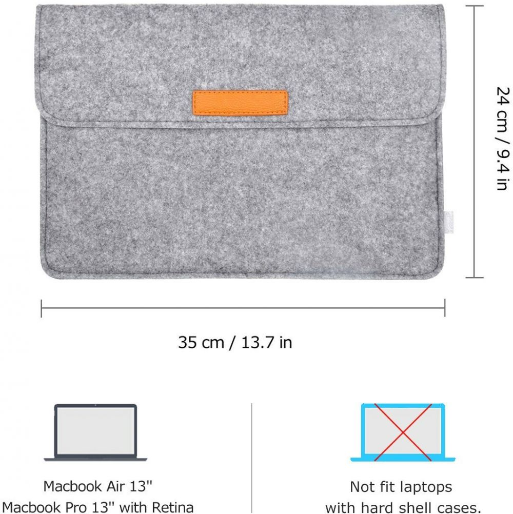 حقيبة ماك من 11 انش الي 13.3 انش Inateck 13.3 Inch / for Apple Macbook Air Netbook MacBook Pro