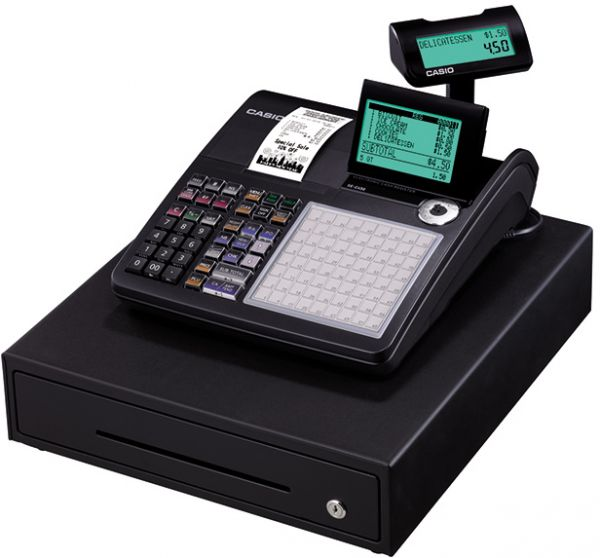 Buy Casio Electronic Cash Register And Pos Black Se