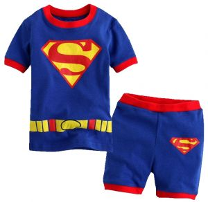 1set Summer Casual Children Kid Toddler Cartoon T-shirt beach Shorts Pants Boys Clothes Summer 0308 Clothing Sets