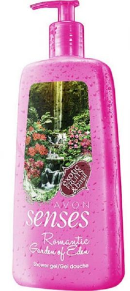 avon senses romantic garden of eden hydrating shower gel 720 ml review and buy in riyadh. Black Bedroom Furniture Sets. Home Design Ideas