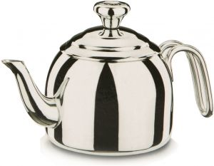 1.1 /& 2 Quart Korkmaz Spring Capsulated Turkish Tea Pot