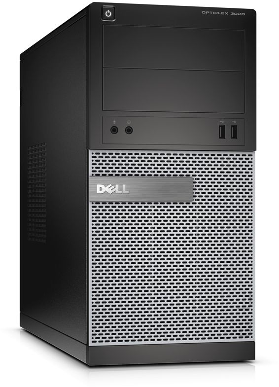 Dell GX 3020 Desktop - Intel Core i3, 500GB, 4GB, DOS with 18.5 LED Monitor