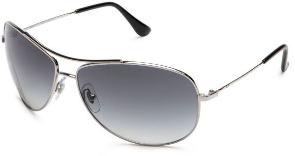 83070b388be9b Ray-Ban RB 3293 Sunglasses Styles - Silver Frame   Gray Gradient ...