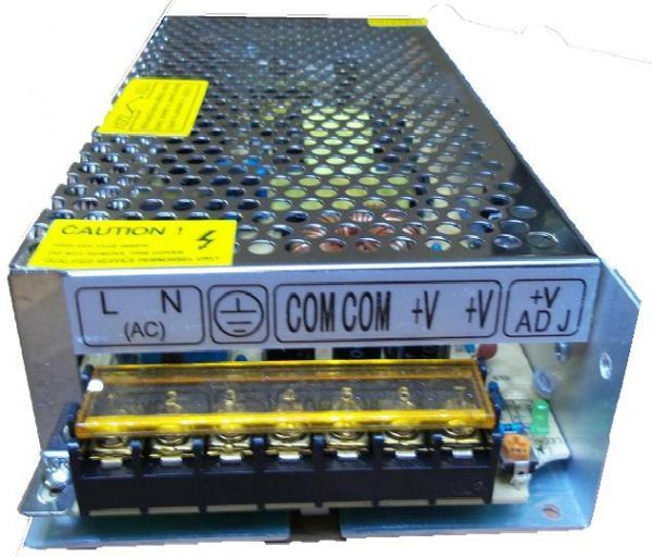 SMPS Power supply 12V/10A regulated (engineering projects) not for car  battery charger/inverter
