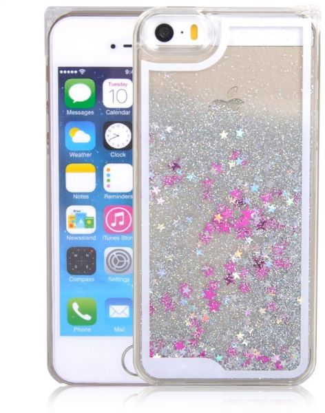 new styles 4867c a2178 Stars Liquid Glitter 3D Bling case cover for iPhone 6 Plus/iPhone 6S Plus
