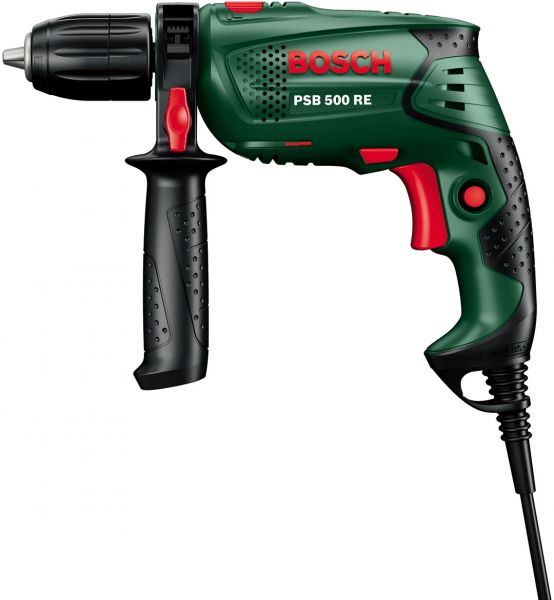 price review and buy bosch hammer drill psb 500 re. Black Bedroom Furniture Sets. Home Design Ideas