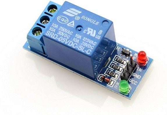 Arduino and Raspberry Pi 5v Relay Module 1 Channel for Switching Automation