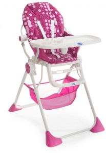 Chicco Pocket Lunch High Baby Chair - CH79341-81, Pink