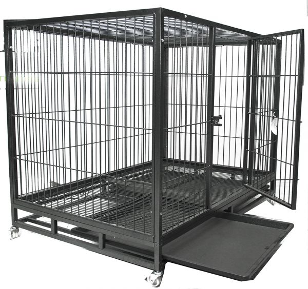 Metal Dog Cage Large Ksa Souq