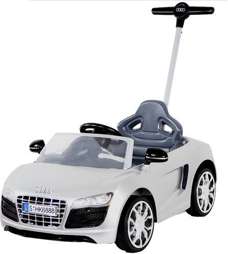 Audi Push Buggy With Canopy White Souq Uae