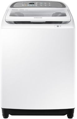 Samsung  Automatic Topload washing Machine 9 KG, dual wash, white, WA90J5710SW