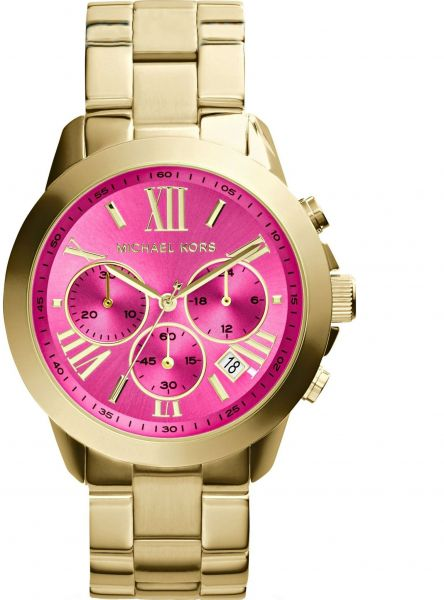 88fa632352d6 Michael Kors Bradshaw Watch for Women - Analog Stainless Steel Band ...