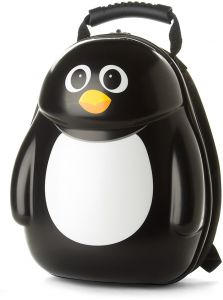 03959d59b9c3 The Cuties and Pals KIM-PEN12 Peko the Penguin 13 Inch Backpack for Kids -  Black