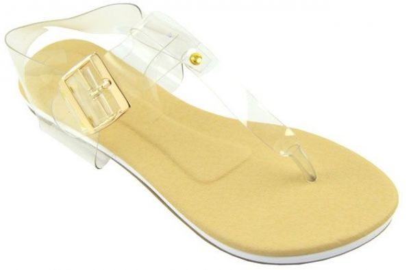 506941120 D Crush Clear Thong Sandal For Women