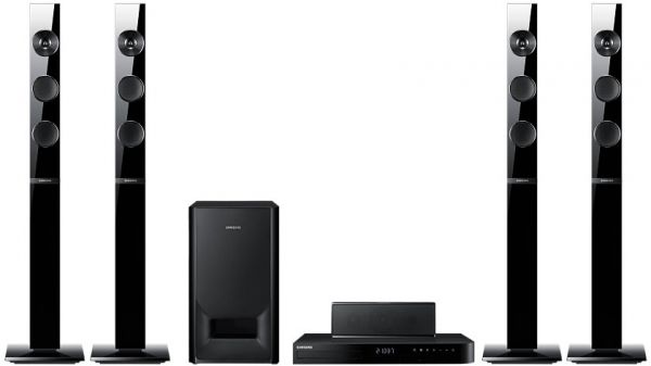 Souq | Samsung HT-J5550WK 5.1Ch Smart Blu-ray Home Theater System | UAE