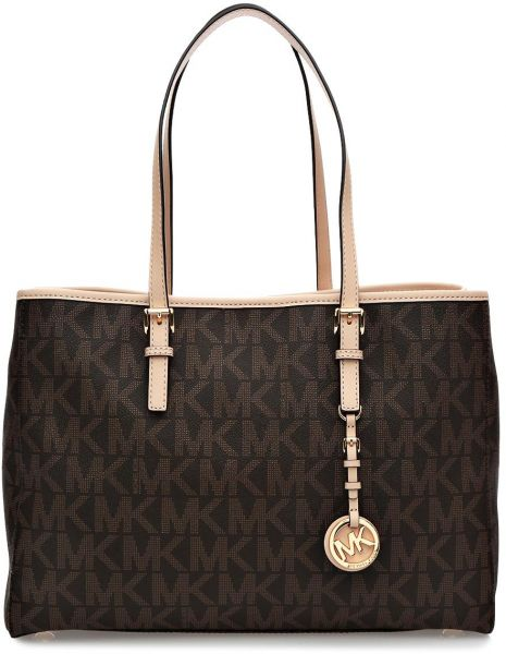 8720d68ab237 This item is currently out of stock Souq Michael Kors Satchel Bag for Women  ...