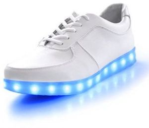 a8a5b1d328bc4 7 Colors Fashion LED Sneakers USB Charging Lights shoes