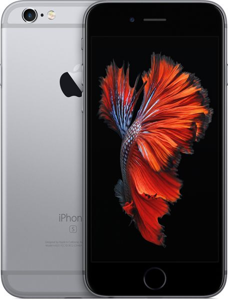 Apple iPhone 6S with FaceTime - 16GB, 4G LTE, Space Gray