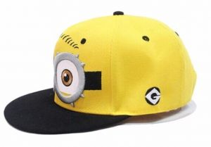 37b65e60466 Childs cap kids hat Hip-hop Baseball Caps childs Despicable Me Minions Cap  Snapback Hats