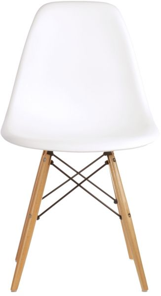 Superieur Set Of 4 High Quality Eames Style DSW Dining Side Chair   White
