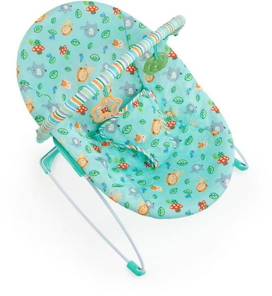535e79ac1f75 Bright Starts 60252 Jolly Safari Vibrating Bouncer - Turquoise ...