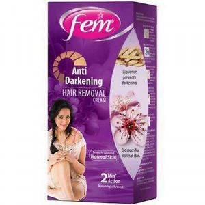 Fem Anti Darkening Hair Removal Cream Normal Skin 40 Gm Buy Online Health And Personal Care At Best Prices In Egypt Souq Com