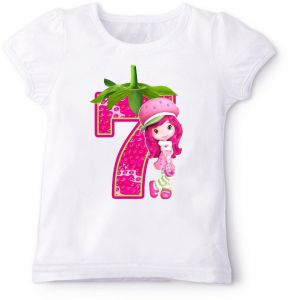 Strawberry 7Th Birthday T Shirt