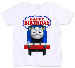 Thomas And His Friends Happy Birthday T Shirt 5 Years
