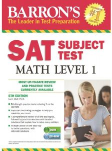 Barron's Sat Subject Test Math Level 1 5th Edition by Ira K. Wolf - Paperback