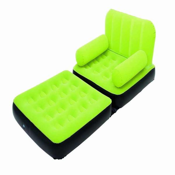 Bestway 5 In 1 Air Bed Sofa Green