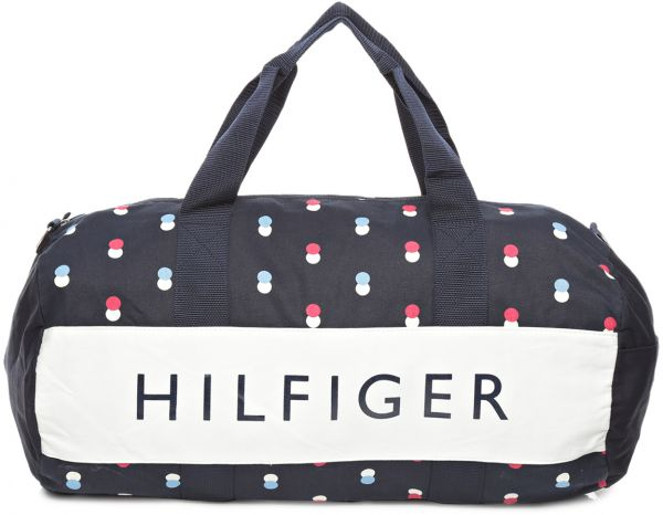 064a6aee12 Tommy Hilfiger W86930201475 Large Duffle Bag for Women - Navy Blue ...