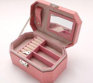 34597eba7 Jewelry Box Necklace Earring Container Boxes Makeup Case Jewelry Organizer  Birthday Gift