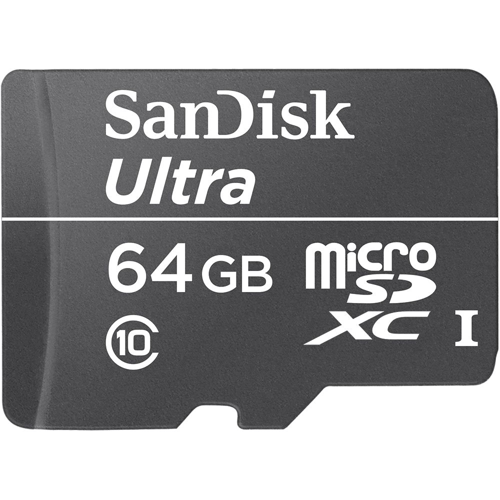 Sandisk Ultra microSDHC UHS-I Class10 30MB 64GB