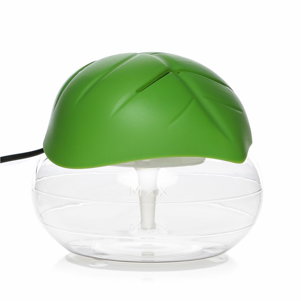 Leaf Shaped Electrical Water Air Refresher Air Revitalizer Air Purifier Air Humidifier-Green