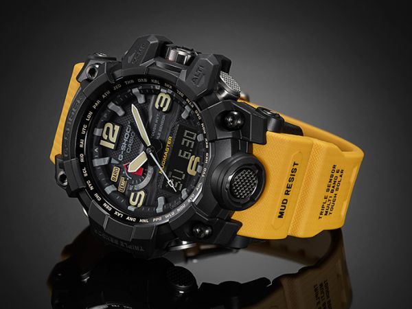 Pay Here Buy Here >> Buy CASIO G-SHOCK MUDMASTER ANALOG RESIN BAND WATCH FOR MEN GWG-1000-1A9 - Watches | KSA | Souq