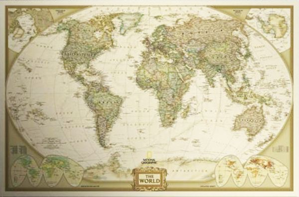Souq world map poster 72x48cm uae this item is currently out of stock gumiabroncs Gallery