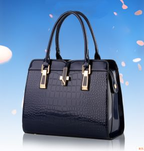 058431367b Famous Luxury Women Genuine Leather Bag Alligator Pattern Handbag Messenger  Bag Tote Shoulder Bag