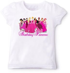 Disney Birthday Princess T Shirt 3 Years
