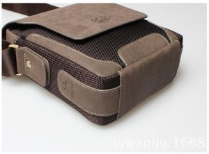 2175405eae52 European and American style Scrubs Genuine Leather stylish casual shoulder  messenger bag for Men BY1