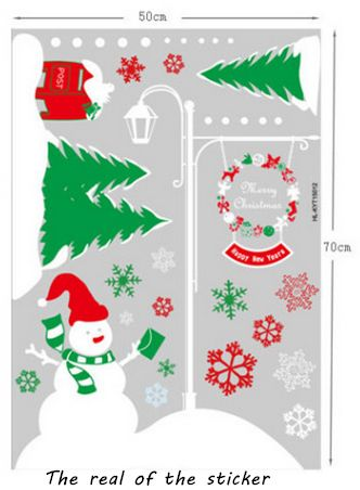 christmas decor xmas decals art vinyl wall sticker home wall decals