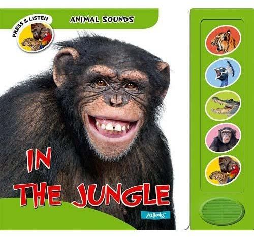 Animal Sounds In the Jungle by Jane Wilson - Board Book